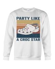 Party Like A Croc Star Crewneck Sweatshirt thumbnail