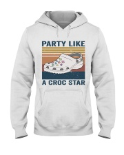 Party Like A Croc Star Hooded Sweatshirt thumbnail