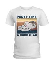 Party Like A Croc Star Ladies T-Shirt thumbnail