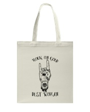 Rock On Gold Dust Woman Tote Bag thumbnail