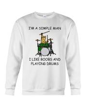 I'm A Simple Man Crewneck Sweatshirt thumbnail