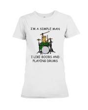 I'm A Simple Man Premium Fit Ladies Tee thumbnail