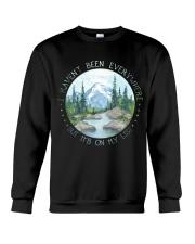 It Is On My List Crewneck Sweatshirt thumbnail