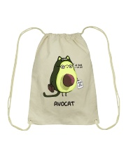 Avocat Drawstring Bag thumbnail
