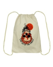 Stay Out Of The Forest Drawstring Bag thumbnail