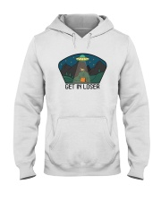 Get In Loser Hooded Sweatshirt front