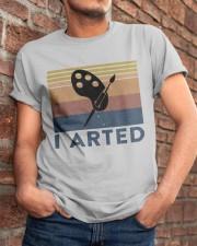 I Arted Classic T-Shirt apparel-classic-tshirt-lifestyle-26