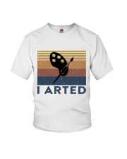 I Arted Youth T-Shirt thumbnail