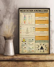 Meditation Knowledge 11x17 Poster lifestyle-poster-3