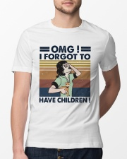 I Forgot To Have Children Classic T-Shirt lifestyle-mens-crewneck-front-13