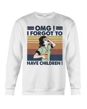 I Forgot To Have Children Crewneck Sweatshirt thumbnail