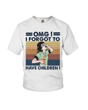 I Forgot To Have Children Youth T-Shirt thumbnail