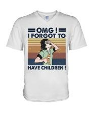 I Forgot To Have Children V-Neck T-Shirt thumbnail