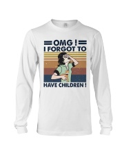 I Forgot To Have Children Long Sleeve Tee thumbnail