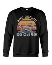 Where Chocolate Eggs Crewneck Sweatshirt thumbnail