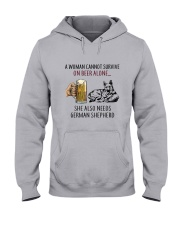 German Shepherd Hooded Sweatshirt thumbnail