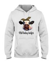 Not Today Heifer Hooded Sweatshirt front