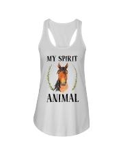 My Spirit Animal Ladies Flowy Tank thumbnail