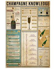 Champagne Knowledge 11x17 Poster front