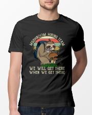 Mushroom Hiking Team Classic T-Shirt lifestyle-mens-crewneck-front-13