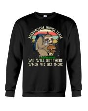 Mushroom Hiking Team Crewneck Sweatshirt thumbnail