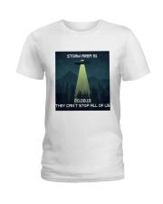 Storm Area 51 Ladies T-Shirt thumbnail