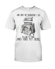 And Into The Bookstore Premium Fit Mens Tee thumbnail