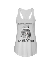 And Into The Bookstore Ladies Flowy Tank thumbnail