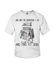 And Into The Bookstore Youth T-Shirt thumbnail