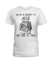 And Into The Bookstore Ladies T-Shirt thumbnail