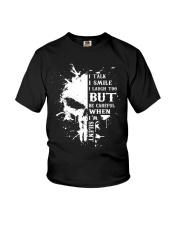 I Talk I Smile I Laugh Youth T-Shirt thumbnail