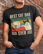 Best Cat Dad Classic T-Shirt apparel-classic-tshirt-lifestyle-26