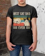 Best Cat Dad Classic T-Shirt apparel-classic-tshirt-lifestyle-31