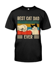 Best Cat Dad Classic T-Shirt front