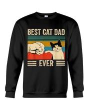 Best Cat Dad Crewneck Sweatshirt thumbnail