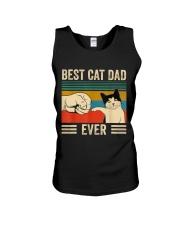 Best Cat Dad Unisex Tank thumbnail