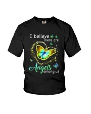 I Believe There Are Angels Youth T-Shirt thumbnail