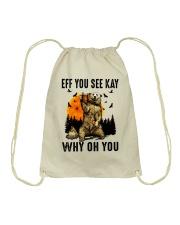 Eff You See Kay Why Oh You Drawstring Bag thumbnail