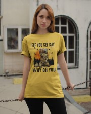 Eff You See Kay Why Oh You Classic T-Shirt apparel-classic-tshirt-lifestyle-19