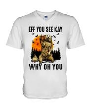 Eff You See Kay Why Oh You V-Neck T-Shirt thumbnail
