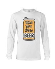 Wish You Were Beer Long Sleeve Tee thumbnail