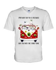 Samoyed V-Neck T-Shirt thumbnail