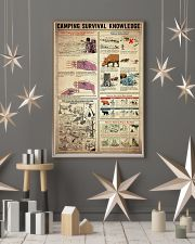 Camping Survival Knowledge 11x17 Poster lifestyle-holiday-poster-1