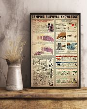 Camping Survival Knowledge 11x17 Poster lifestyle-poster-3