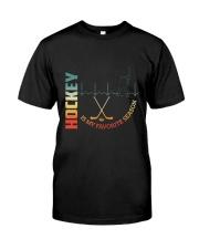 Hockey Is My Favorite Season Classic T-Shirt front