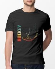 Hockey Is My Favorite Season Classic T-Shirt lifestyle-mens-crewneck-front-13