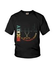 Hockey Is My Favorite Season Youth T-Shirt thumbnail