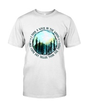 I Took A Walk In The Woods Classic T-Shirt thumbnail