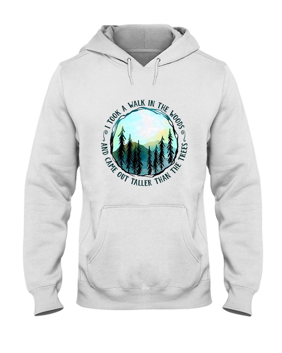 I Took A Walk In The Woods Hooded Sweatshirt