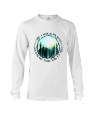 I Took A Walk In The Woods Long Sleeve Tee thumbnail